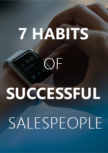 Free eBook - 7 habits of successful salespeople that are being ignored by the average sales rep