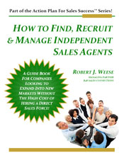 How to Find, Recruit & Manage Independent Sales Agents - Channel Sales Management Training & Coaching eBook Cover