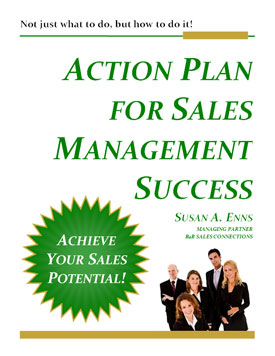 B2B Sales Connecitons Sales Management Training Programs Action Plan For Sales Success eBook Cover