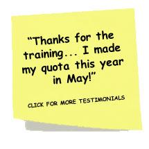 B2B Sales Connections Training Testimonial
